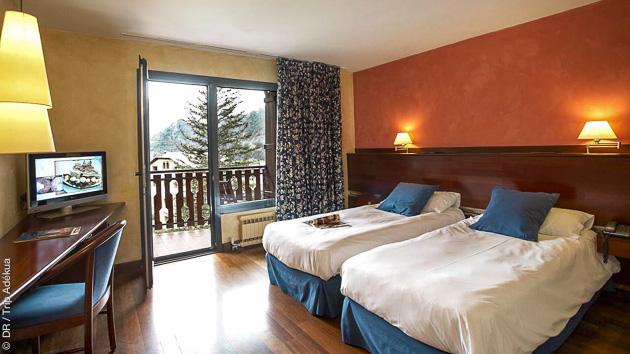 ma chambre pour un bon repos après mon stage freeride dans les Pyrénées