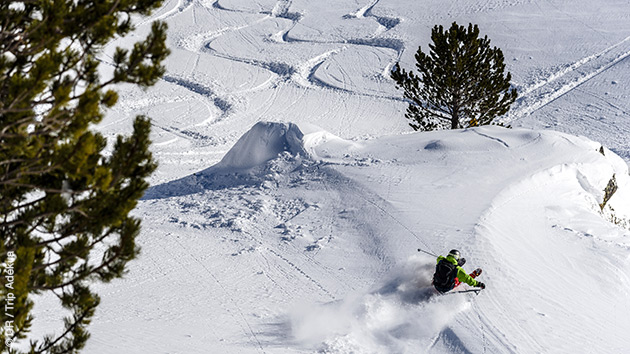 Séjour ski freeride en Andorre, avec hébergement en hôtel 3 étoiles