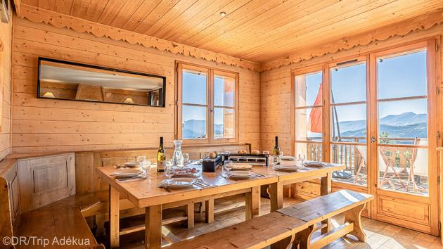 Profitez d'une semaine de ski en chalet tout confort sur les pistes