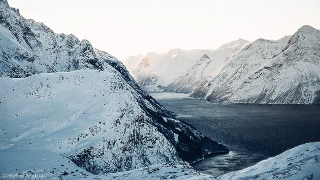 Découvrez les plus beaux itinéraires de free ski de Norvège dans les Alpes Bodo