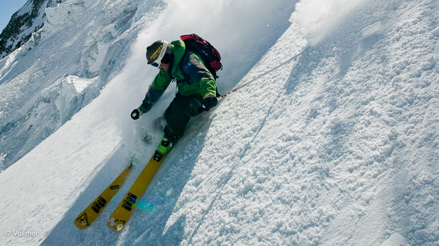 régalade en Suisse sur les hors piste de Nax et du Val d'Hérens