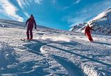 Free ski dans la poudreuse de Haute Tarentaise - voyages adékua