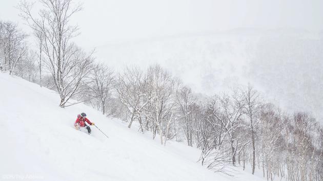 Découvrez les plus beaux itinéraires de ski freeride du Japon à Hokkaido