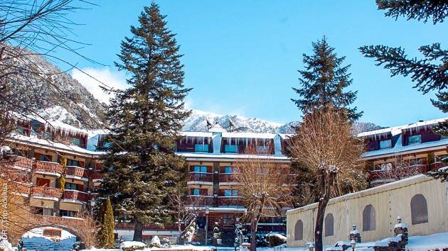 A Ordino, en Andorre, votre hôtel tout confort vous réserve des moment de détente après vos sessions ski
