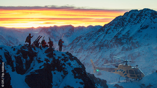 Sessions freeride héliski en Andorre