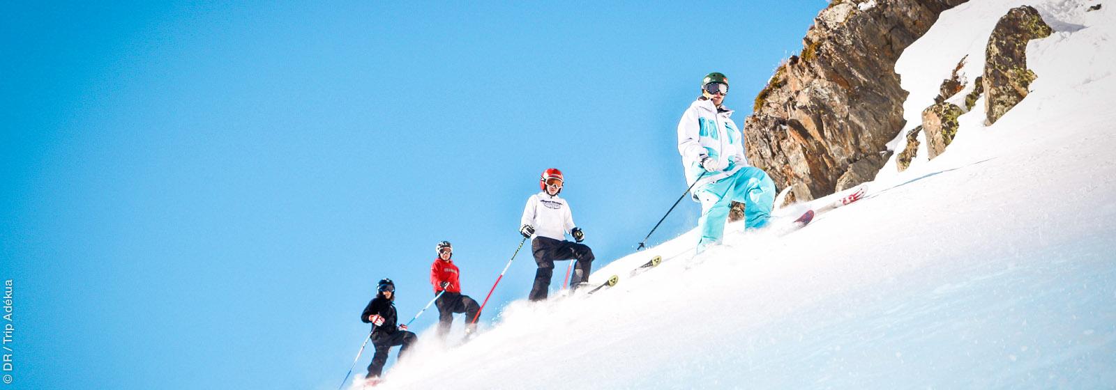 Ski Trip Adékua : créez et réservez vos Séjours et Stages de Ski