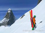 Vendredi : ski freeride hors piste ou initiation au ski de randonnée dans les Alpes - voyages adékua
