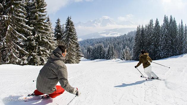 Vos sessions ski freeride sur le domaine de Combloux Megève !