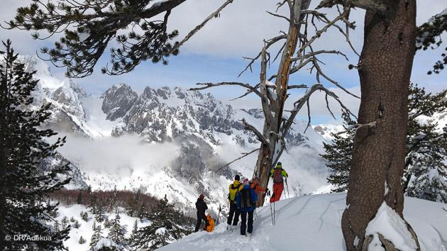magnifique séjour ski en Albanie pour les accros de freeride