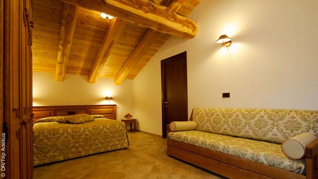 logement confort pendant ce séjour ski freeride dans le Piémont en Italie