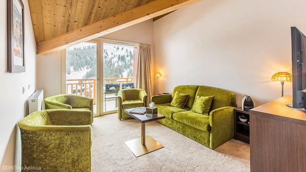 Profitez de votre chambre en hôtel 3 étoiles après vos journées de ski à Méribel