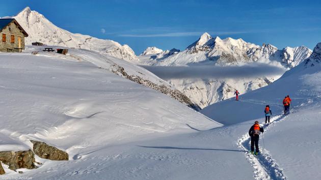 Ski de randonnée et détente en Savoie à Tignes Val d'Isère