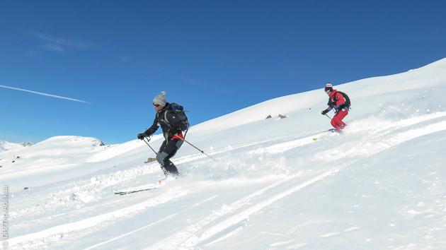 Du bon ski hors piste dans la poudreuse des Hautes Alpes !