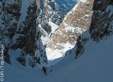 Ski freeride grand format dans les Dolomites en Italie - voyages adékua