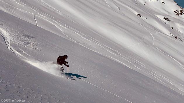 Skiez les plus belles pentes freeride de Tignes Val d'Isère