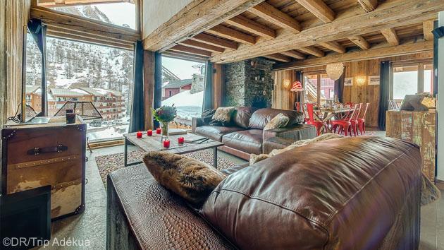 Votre séjour au sport d'hiver en chalet grand luxe à Tignes Val d'Isère