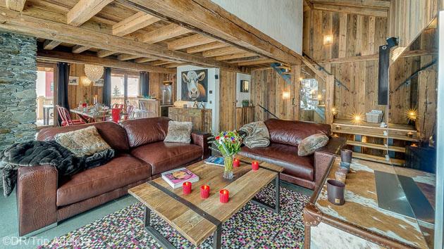 Votre chalet grand luxe tout équipé pour un séjour parfait au ski