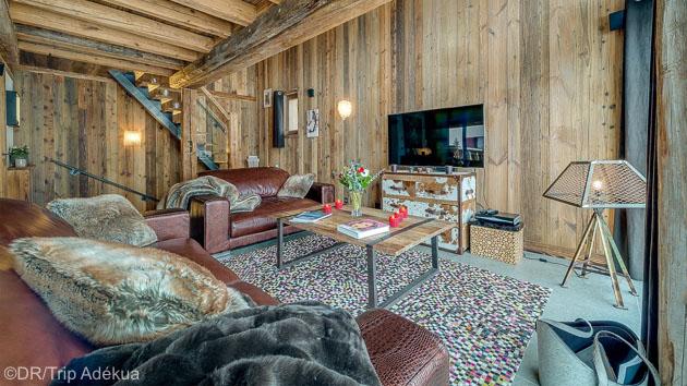 Savourez vos vacances au ski dans ce chalet de montagne grand luxe