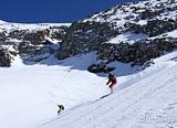 Deuxième journée de ski freeride aux Deux-Alpes, 1600 m de dénivelé - voyages adékua