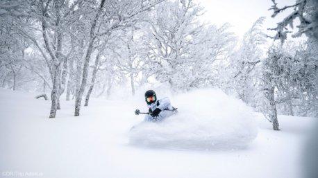Des vacances free ski au Japon du sur l'île d'Hokkaido