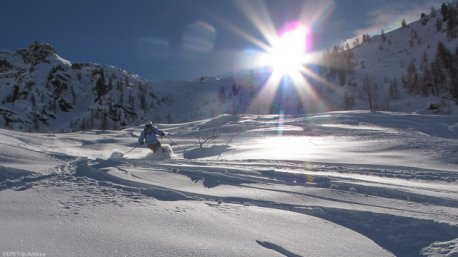 Ski freeride rando dans le Piémont, en toute sécurité avec ce séjour no stress