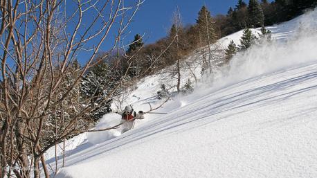 sejour ski freeride à Gresse en Vercors