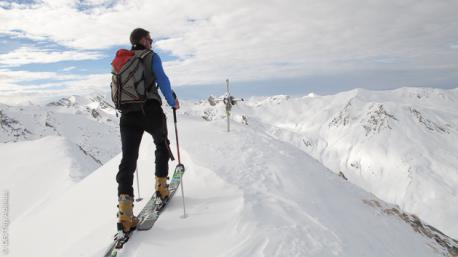 Ski de randonnée dans la Vanoise, tout en douceur...