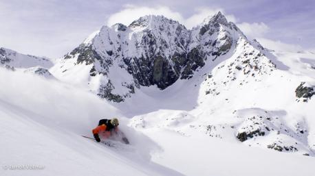 Arolla Val d'Herens le paradis du ski freeride en Suisse