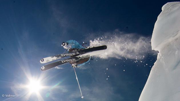 week-end de gros ski en Suisse à Nax