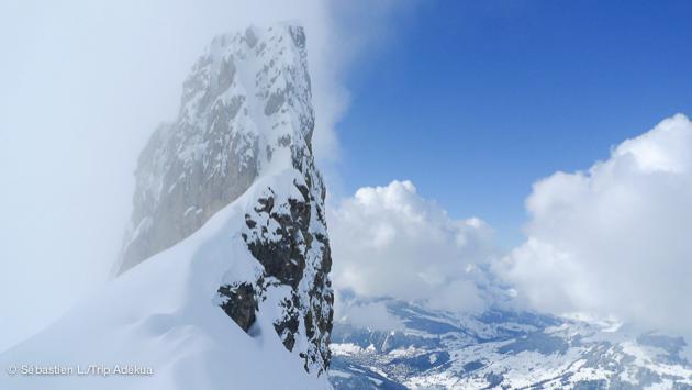 vacances ski hors piste à La Clusaz