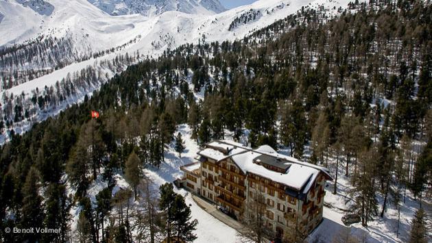 votre hôtel sur les pistes d'Arolla pour votre week-end freeride en Suisse dans le Valais